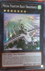 Mecha Phantom Beast Dracossack - LTGY-EN053 - Secret Rare - Unlimited Edition