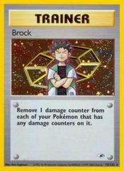 Brock - 15/132 - Holo Rare - Unlimited Edition