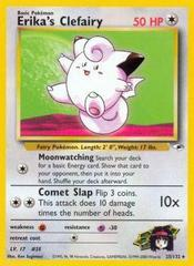 Erika's Clefairy - 25/132 - Rare - Unlimited Edition