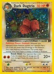Dark Dugtrio - 6/82 - Holo Rare - Unlimited Edition