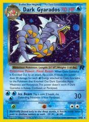 Dark Gyarados - 8/82 - Holo Rare - Unlimited Edition