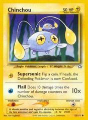 Chinchou - 55/111 - Common - Unlimited Edition