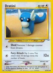 Dratini - 63/105 - Common - Unlimited Edition