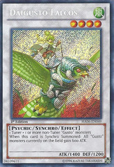 Daigusto Falcos - HA06-EN049 - Secret Rare - Unlimited Edition