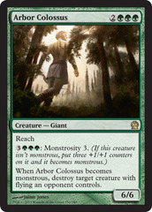 Arbor Colossus on Channel Fireball