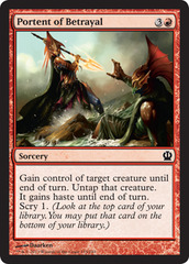 Portent of Betrayal - Foil