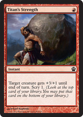 Titan's Strength - Foil