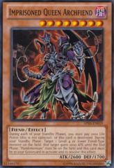 Imprisoned Queen Archfiend - AP03-EN019 - Common - Unlimited Edition on Channel Fireball
