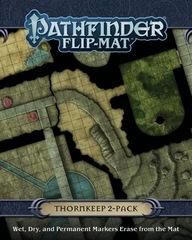 Pathfinder Flip-Mat: Thornkeep Dungeons 2-Pack