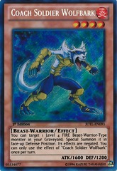 Coach Soldier Wolfbark - JOTL-EN093 - Secret Rare - Unlimited Edition