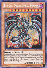 Red-Eyes Darkness Metal Dragon - LCJW-EN050 - Secret Rare - 1st Edition
