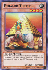 Pyramid Turtle - LCJW-EN189 - Super Rare - 1st Edition