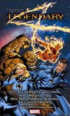 Legendary: A Marvel Deck Building Game - The Fantastic Four [OOP]