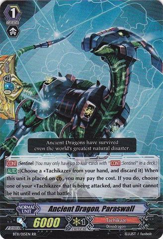 Ancient Dragon, Paraswall - BT11/015EN - RR