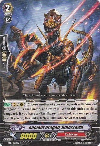 Ancient Dragon, Dinocrowd - BT11/076EN - C