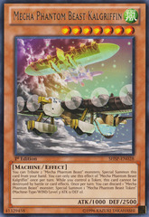 Mecha Phantom Beast Kalgriffin - SHSP-EN028 - Rare - 1st Edition