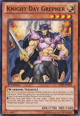 Knight Day Grepher - SHSP-EN038 - Common - 1st Edition