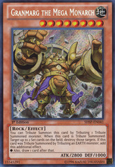 Granmarg the Mega Monarch - SHSP-EN041 - Secret Rare - 1st Edition