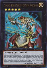 Sacred Noble Knight of King Artorigus - SHSP-EN087 - Ultra Rare - 1st Edition