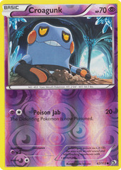 Croagunk - 62/113 - Common - Reverse Holo