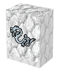 Dragon Hide Deck Box White