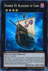 Number 50: Blackship of Corn - CT10-EN018 - Super Rare - Limited Edition on Channel Fireball
