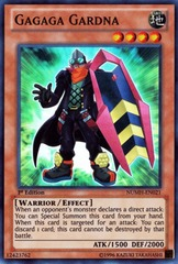 Gagaga Gardna - NUMH-EN021 - Super Rare - Unlimited