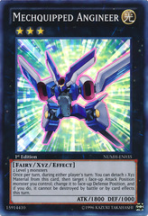 Mechquipped Angineer - NUMH-EN035 - Super Rare - Unlimited