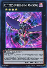 CXyz Mechquipped Djinn Angeneral - NUMH-EN036 - Super Rare - Unlimited on Channel Fireball