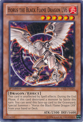 Horus the Black Flame Dragon LV6 - YSKR-EN020 - Common - 1st Edition