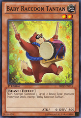 Baby Raccoon Tantan - SHSP-EN015 - Common - Unlimited Edition