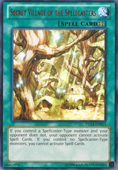 Secret Village of the Spellcasters - Red - DL14-EN013 - Rare - Unlimited Edition