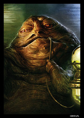 Star Wars Art Sleeves - Jabba the Hutt (50ct)