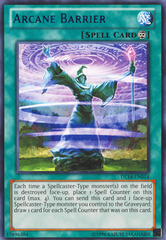 Arcane Barrier - Blue - DL14-EN014 - Rare - Unlimited Edition