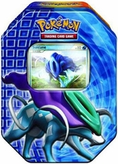 Pokemon 2010 Suicune Holiday Tin