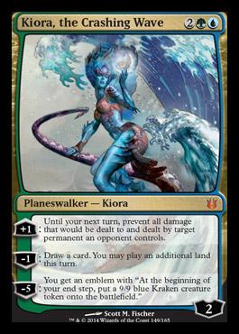 Kiora, the Crashing Wave - Foil