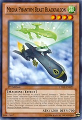 Mecha Phantom Beast Blackfalcon - BPW2-EN061 - Common - 1st Edition