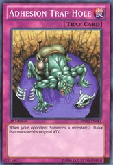 Adhesion Trap Hole - BPW2-EN083 - Super Rare - 1st Edition on Channel Fireball