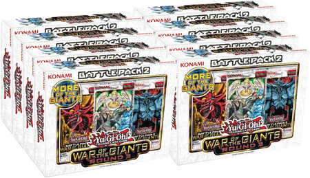 Yu-Gi-Oh Battle Pack #2: War of the Giants Round #2 Display Box of 8 Kits