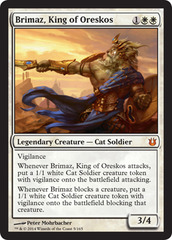 Brimaz, King of Oreskos - Foil on Channel Fireball