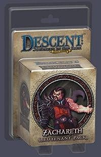 Descent: Journeys in the Dark (second edition) - Zachareth Lieutenant Pack