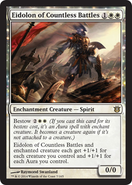 Eidolon of Countless Battles - Foil