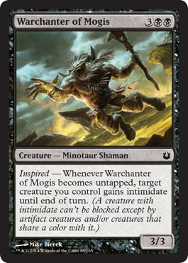 Warchanter of Mogis - Magic Singles » Theros Block » Born of