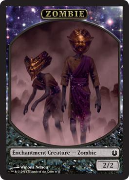 Zombie Token Born of the Gods