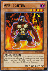 Ape Fighter - BP02-EN093 - Common - Unlimited