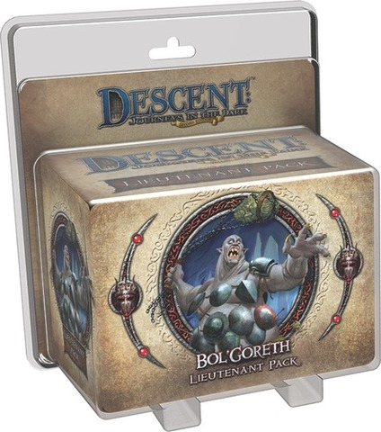 Descent: Journeys in the Dark (Second Edition) - BolGoreth Lieutenant Pack