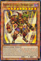 Exodius the Ultimate Forbidden Lord - BP02-EN063 - Mosaic Rare - Unlimited