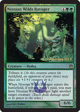 Nessian Wilds Ravager - Foil - Prerelease Promo