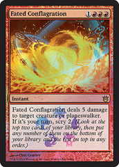 Fated Conflagration - Born of the Gods Foil