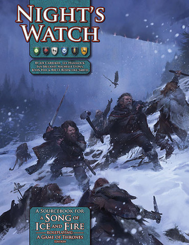 A Song of Ice and Fire Roleplaying: Nights Watch Hardcover